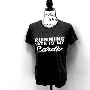 RUNNING LATE T shirt